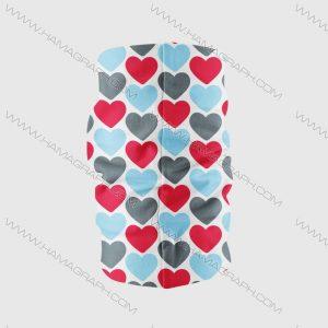 دستمال سر دخترانه طرح عشق