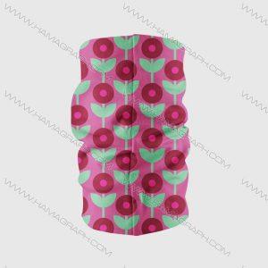 مدل دستمال سر دخترانه جدید طرح گل