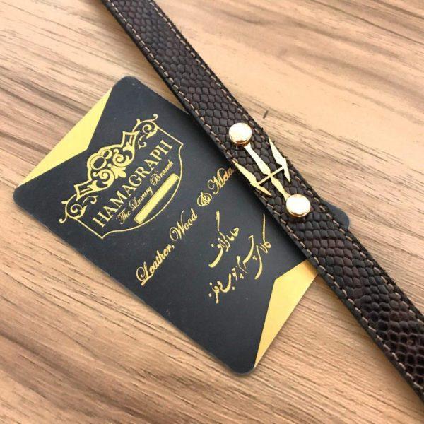 دستبند چرم طرح witcher
