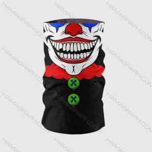 دستمال سر جوکری مدل clown 5