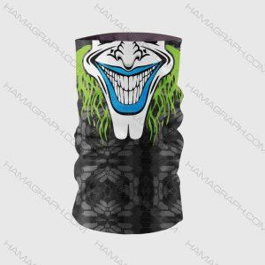 اسکارف و دستمال سر جوکر مدل clown 7