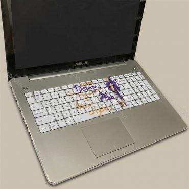 استیکر کیبورد با طرح دلخواه   چاپ و برش استیکر کیبورد لپ تاپ با بهترین جنس و کیفیت با طرح دلخواه و متناسب با سایز دقیق کیبورد شما برچسب کیبورد فانتزی کیبورد