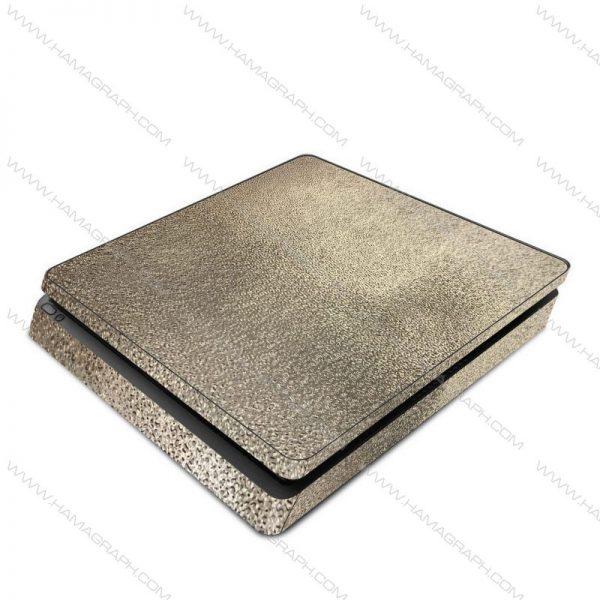اسکین نقره ای برجسته silver 1 | اسکین طلایی براق ps4 قابل سفارش برای مدلهای pro و fat و slim با بهترین کیفیت در هاماگراف. اسلیم. پرو. فت. معمولی ایکس باکس