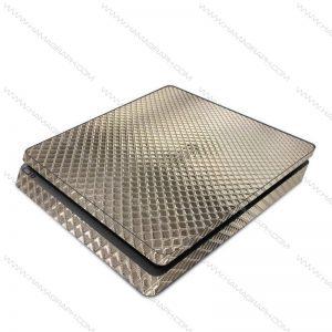 اسکین نقره ای برجسته silver 2 | اسکین طلایی براق ps4 قابل سفارش برای مدلهای pro و fat و slim با بهترین کیفیت در هاماگراف. اسلیم. پرو. فت. معمولی ایکس باکس