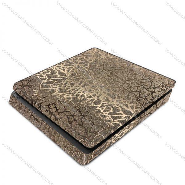 اسکین نقره ای برجسته silver 3 | اسکین طلایی براق ps4 قابل سفارش برای مدلهای pro و fat و slim با بهترین کیفیت در هاماگراف. اسلیم. پرو. فت. معمولی ایکس باکس