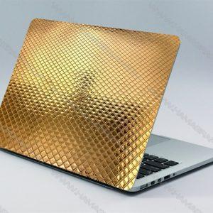 استیکر لپ تاپ برجسته gold pat | اسکین کربن لپ تاپ لنوو اسکین پشت لپ تاپ ایسوس اسکین کیبورد لپ تاپ لپ تاپ استیکر لپ تاپ و برچسب لپ تاپ اسکین استراحتگاه