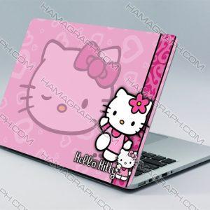 اسکین بدنه لپ تاپ طرح Hello Kitty | استیکر دخترانه لپ تاپ ایسوس استیکر لپ تاپ لنوو برچسب لپ تاپ ایسوس استیکر لپ تاپ استیکر کیبورد استراحتگاه لپ تاپ