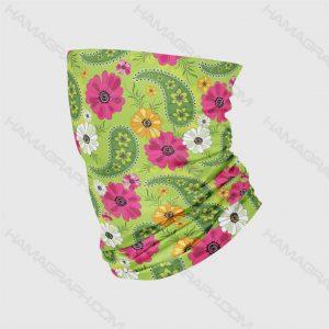 اسکارف باف طرح green slimy | اسکارف اسلیمی طرح سنتی بهترین و با کیفیت ترین اسکارف ها با دوخت لبه ها جهت جلوگیری از پاره شدن فروگشاه اینترنتی هاماگراف slimy