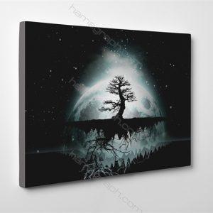 تابلو شاسي alone tree | تابلو شاسي با طرح دلخواه تابلو شاسي چیست گیمینگ تابلو شاسی فروشگاه تابلو شاسی خرید تابلو برای پذیرایی تابلو عکس تابلو دیواری ارزان