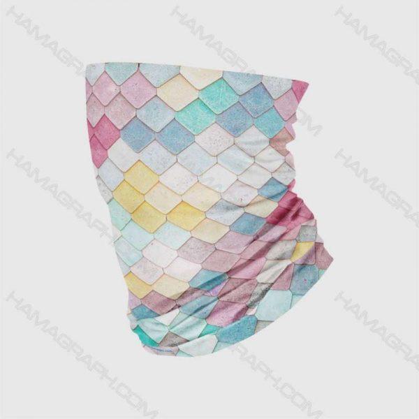 دستمال سر رنگی color tiled | تولید عمده اسکارف با طرح اختصاصی و سفارشی | انواع دستمال سر و گردن | باندانا | باف | بهترین کیفیت چاپ | بهترین کیفیت پارچه