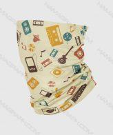 دستمال سر رپری طرح موزیک musician | تولید عمده اسکارف با طرح اختصاصی و سفارشی | انواع دستمال سر و گردن | باندانا | باف | بهترین کیفیت چاپ | بهترین جنس پارچه
