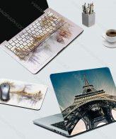 اسکین کامل لپ تاپ lovely paris - اسکین طرح پاریس - اسکین