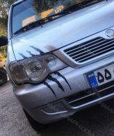 برچسب چنگ ماشین (مناسب برای انواع خودرو) | برچسب رنگی ماشین استیکر بدنه ماشین برچسب ماشین اسپرت برچسب ماشین ایرانی برچسب