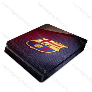 برچسب پلی استیشن barcelona - برچسب طرح بارسلونا - اسکین - استیکر