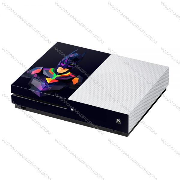 پوسته Xbox one /one s طرح batman - پوسته طرح بتمن - اسکین - استیکر