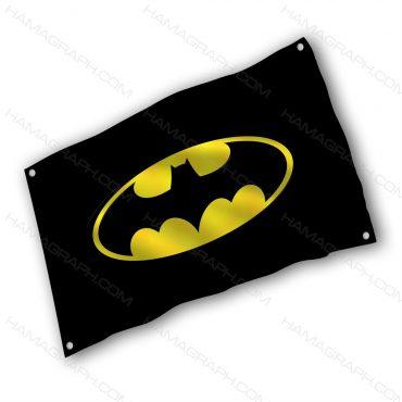 پرچم پارچه ای با طرح Batman logo