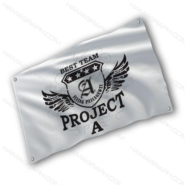 پرچم پارچه ای با طرح Best team