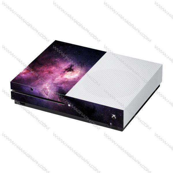 پوسته Xbox one /one s طرح galaxy - پوسته طرح کهکشان - اسکین - استیکر