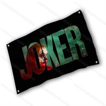 پرچم پارچه ای با طرح joker - پرچم طرح جوکر - خرید پرچم - پرچم