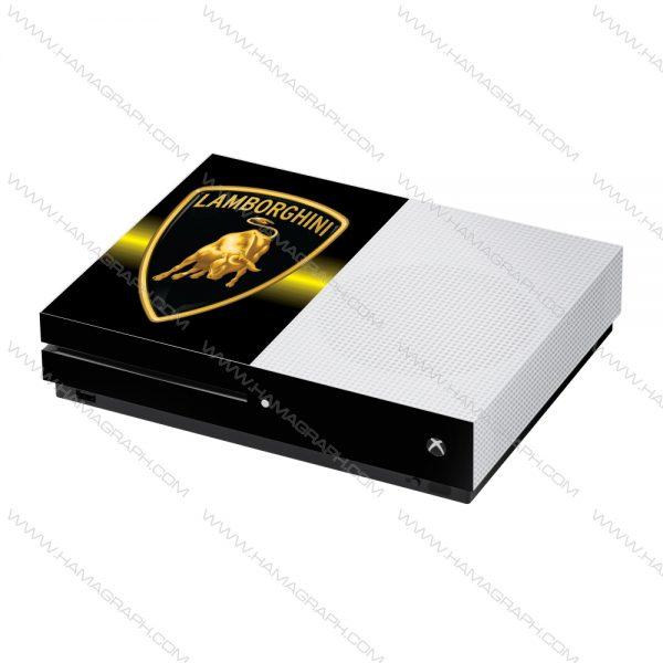 استیکر Xbox one /one s طرح lambo - استیکر طرح لامبورگینی - اسکین