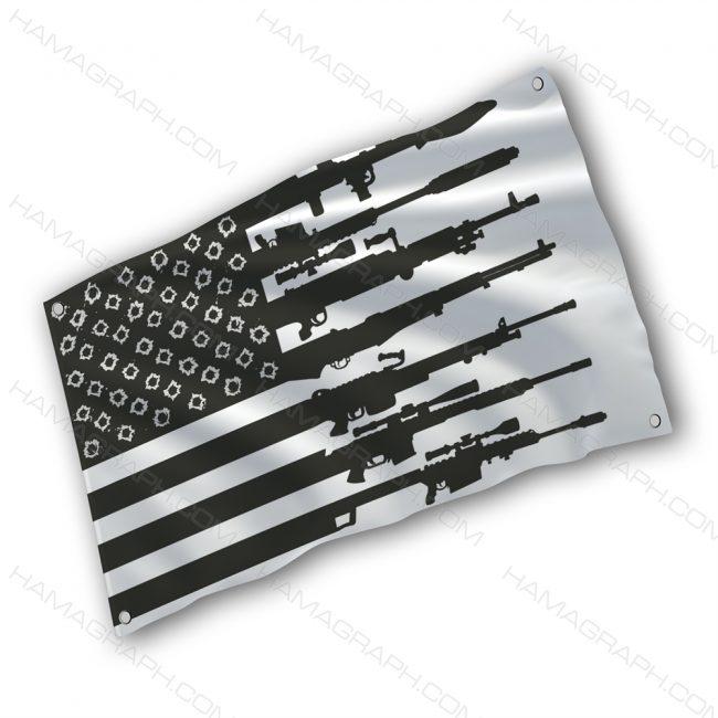 پرچم پارچه ای با طرح usa flag - پرچم طرح آمریکا - خرید پرچم - پرچم