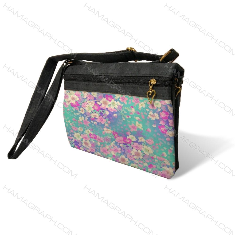 کیف دوشی زنانه طرح spring