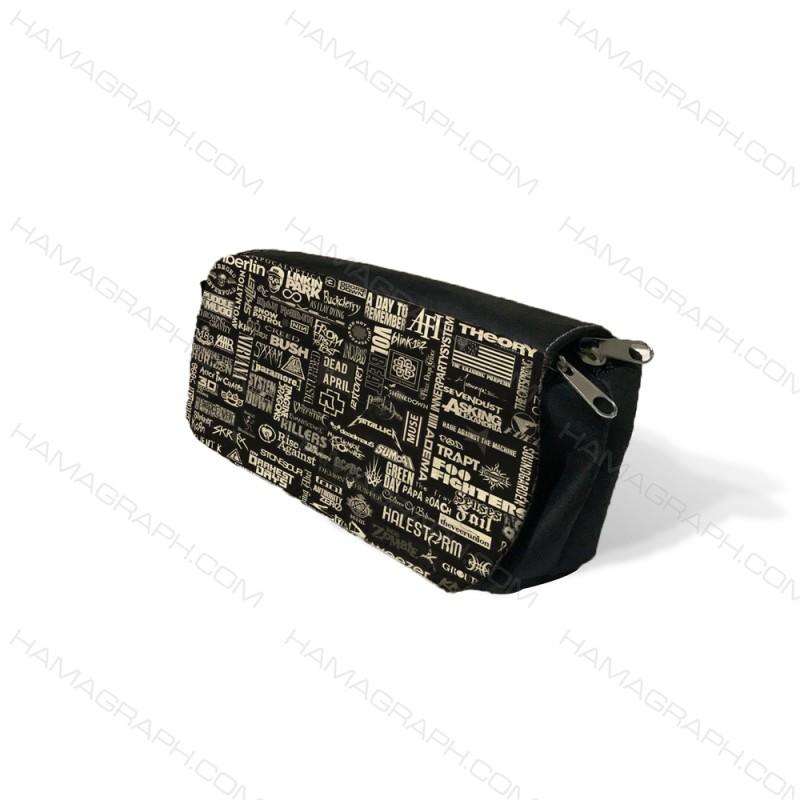 جامدادی رومیزی طرح blackboard - طرح نوشته - جامدادی های طرح دار - کیف جامدادی رومیزی